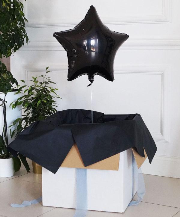 Balon w pudełku – Pan Poważny