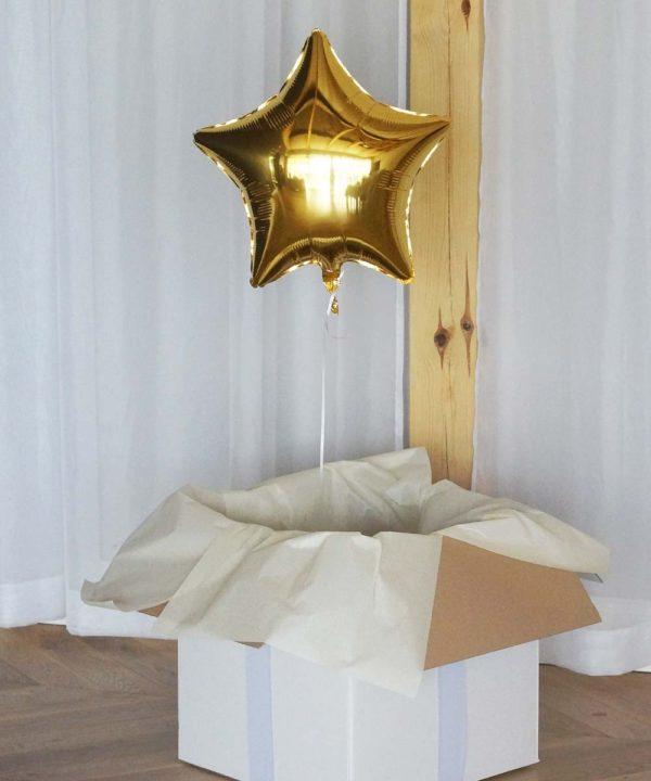 Balon w pudełku – Pani Świetlista