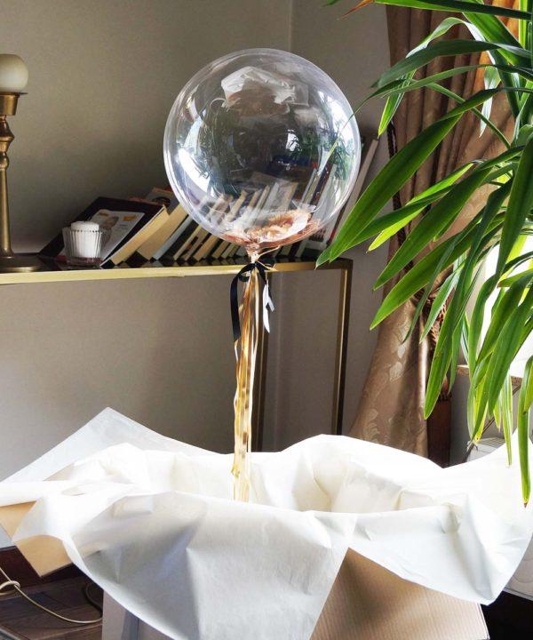 Balon w pudełku – Dziękuję