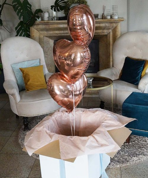 balony na prezent dla niej