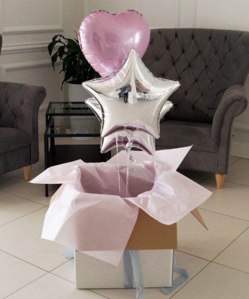 Trzy balony w pudełku – Witaj w domu księżniczko