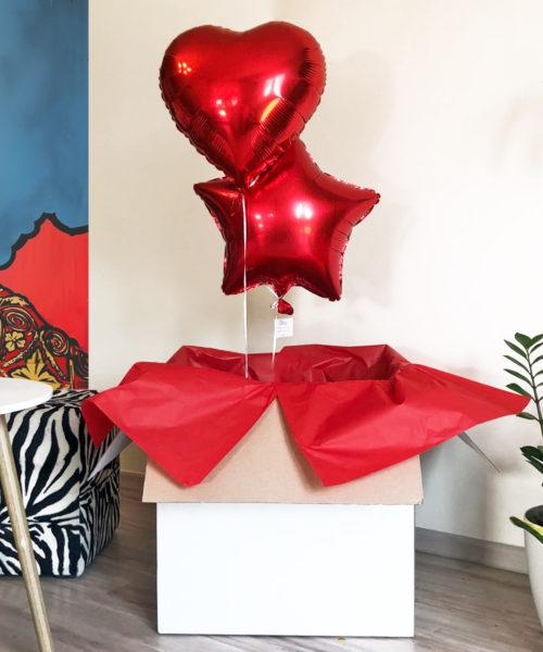 Balony w pudełku – Radość