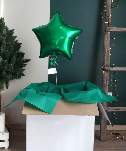 Balon w pudełku – Rodzinna Gwiazdka