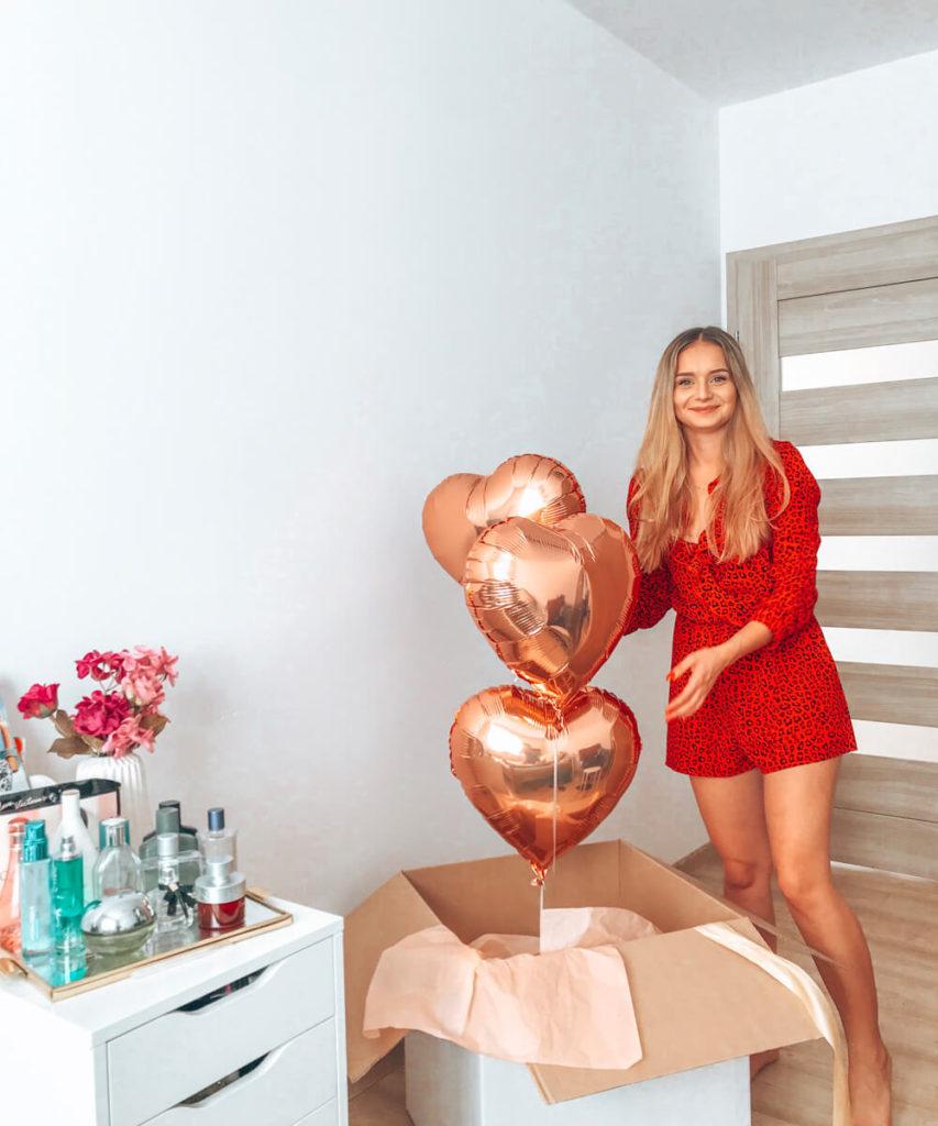 balony z helem dla dziewczyny