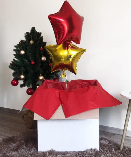 Balon z helem w pudełku – Gwiazdki z nieba