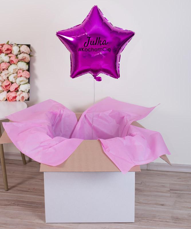 balonowy prezent dla niej