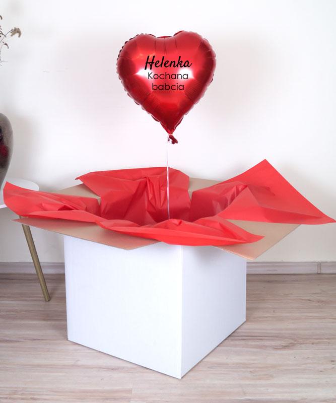 poczta balonowa dla babci