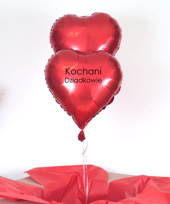 Zestaw balonów z napisem – Kochani Dziadkowie