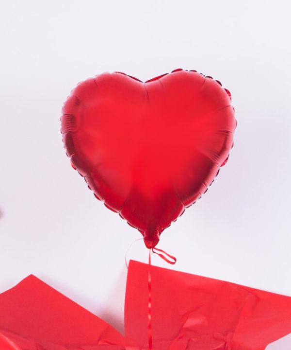 Balon w pudełku – Miłosny Wiersz