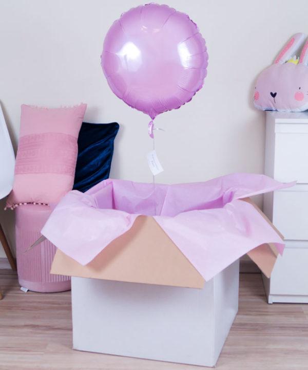 Balon z helem w prezentowym pudełku – Koło Wspomnień