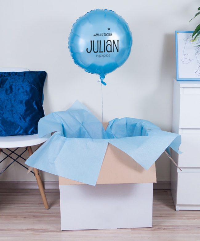 prezent balonowy dla chłopca