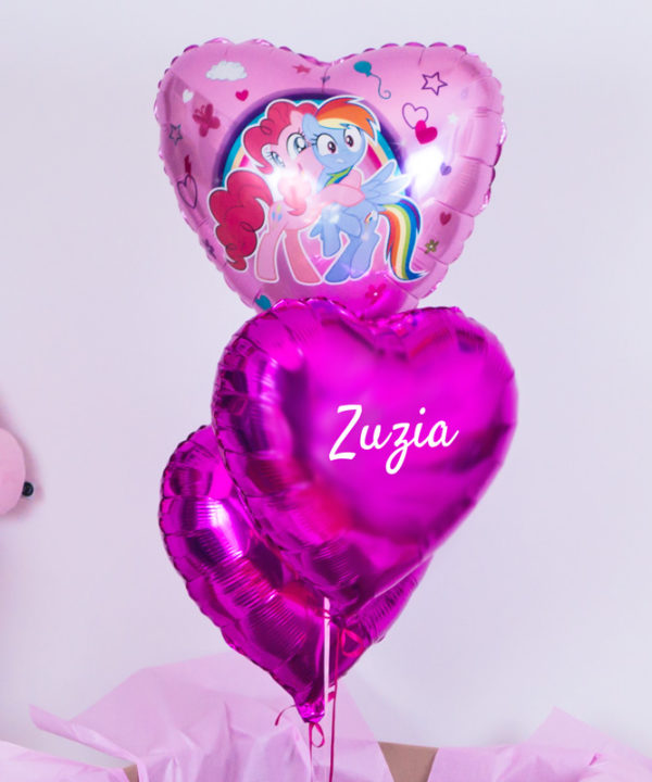 Balonowy zestaw w pudełku – Little Pony