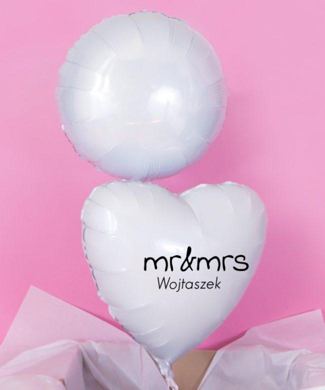 balony na rocznicę dla pary