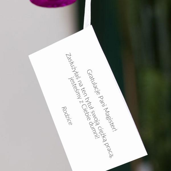 bilecik z życzeniami