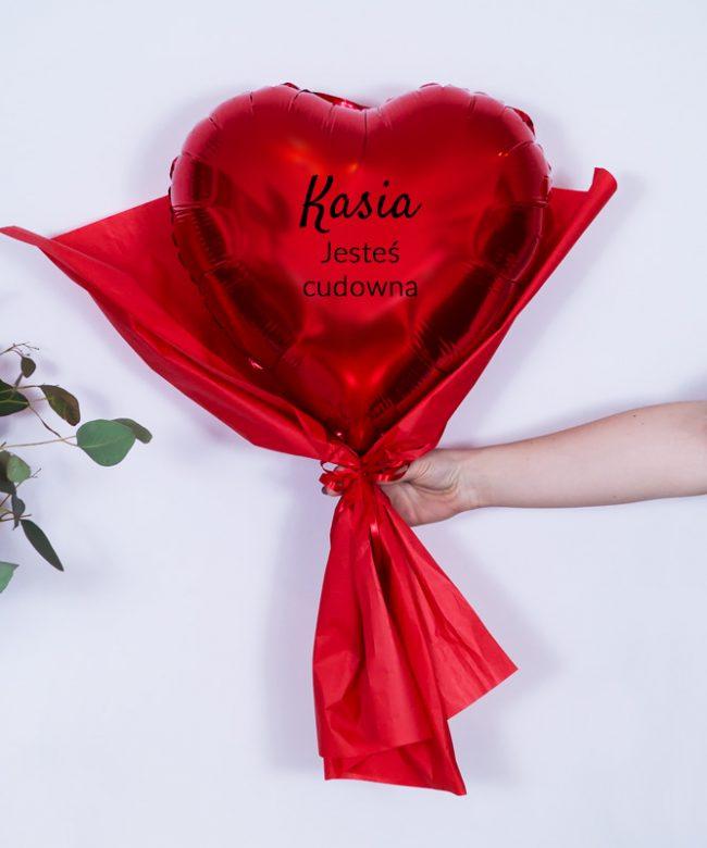 balonowy bukiet dla kobiet na prezent