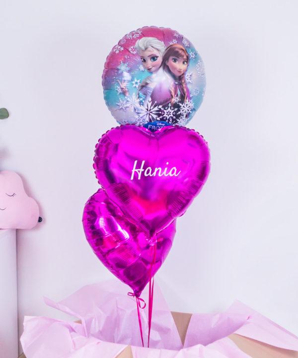 Balonowy zestaw w pudełku – Kraina Lodu