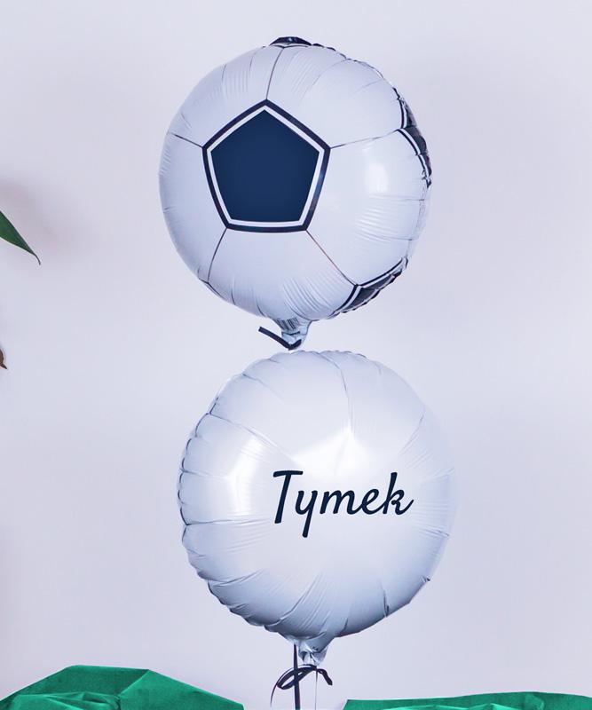 Balony z helem na prezent dla fana piłki nożnej