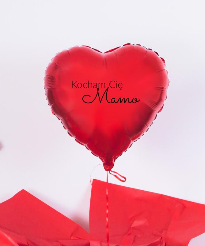 balon z helem dla Mamy