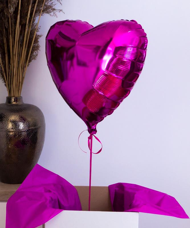 Balon z helem na prezent – Birthday Queen