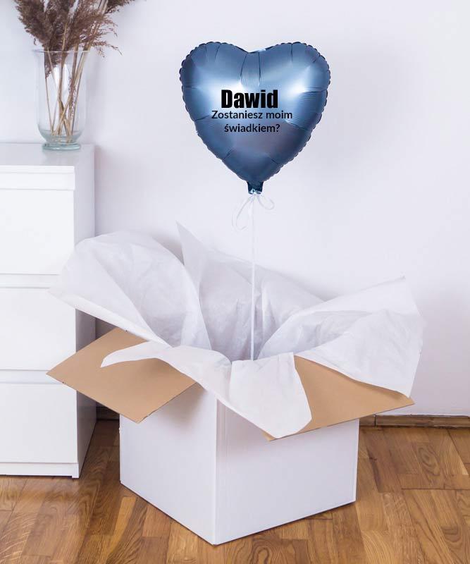 Prezent dla przyszłego świadka – balon z helem