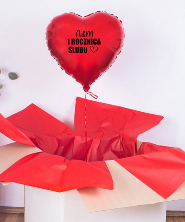poczta balonowa na rocznicę