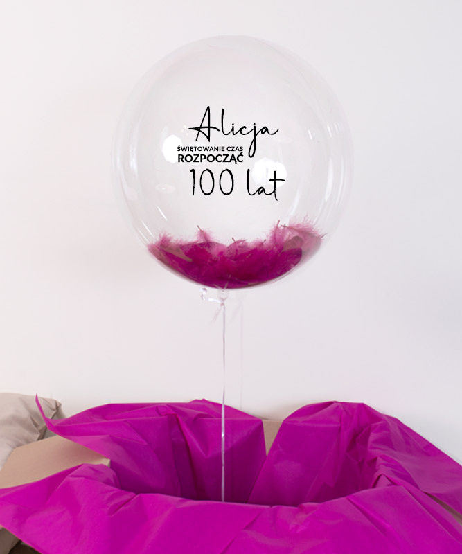 Balon z helem i imieniem na urodziny – Świętowanie czas rozpocząć