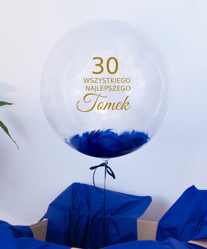 balon na urodziny z napisem