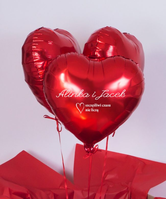 balony na rocznicę