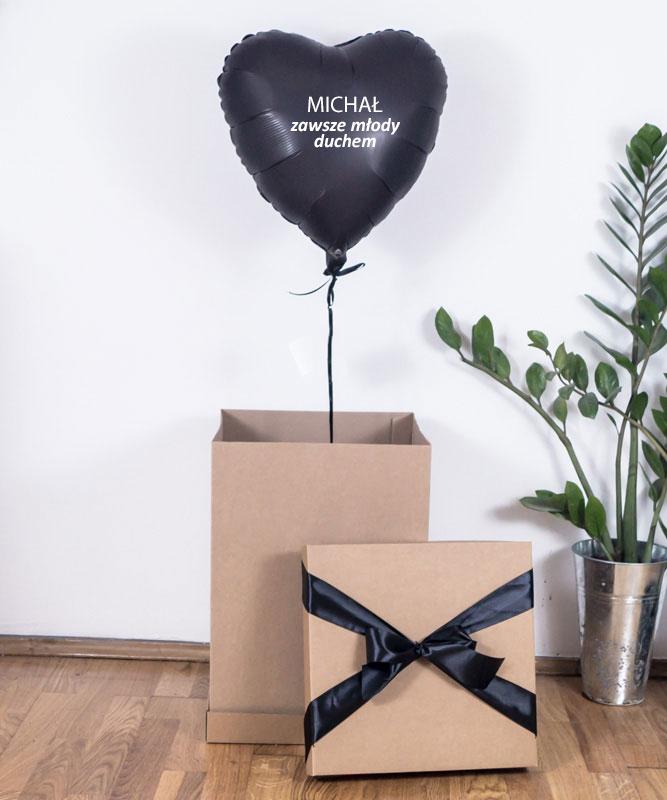 Balon z helem dla mężczyzny – Młody Duchem