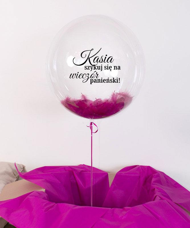 Balon kula z helem – Szykuj się na wieczór Panieński