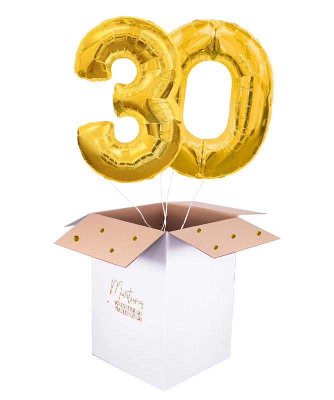 balony na trzydziestkę