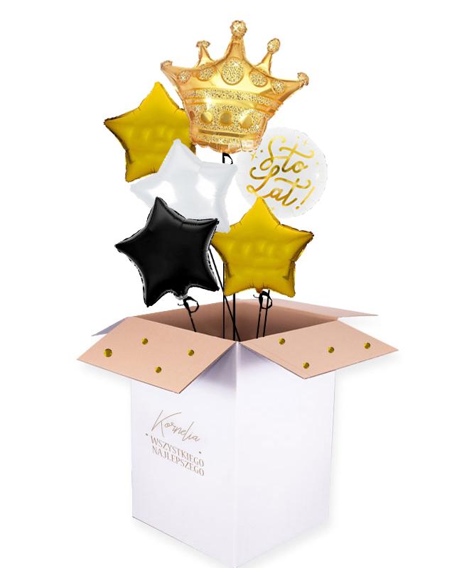 balonowy bukiet na urodziny