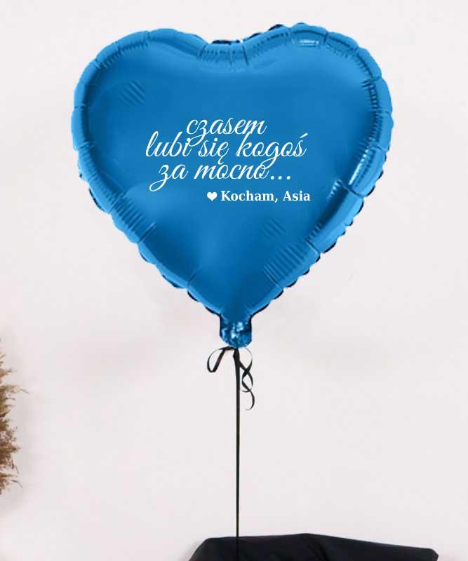 Prezent niespodzianka dla niego – balon gwiazdka z helem