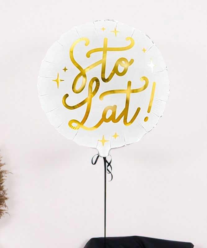 Balon w kartonie na urodziny – prezent niespodzianka